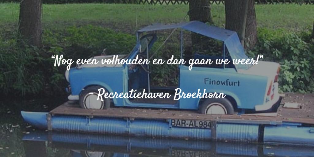 Een Trabant op het Finowkanal