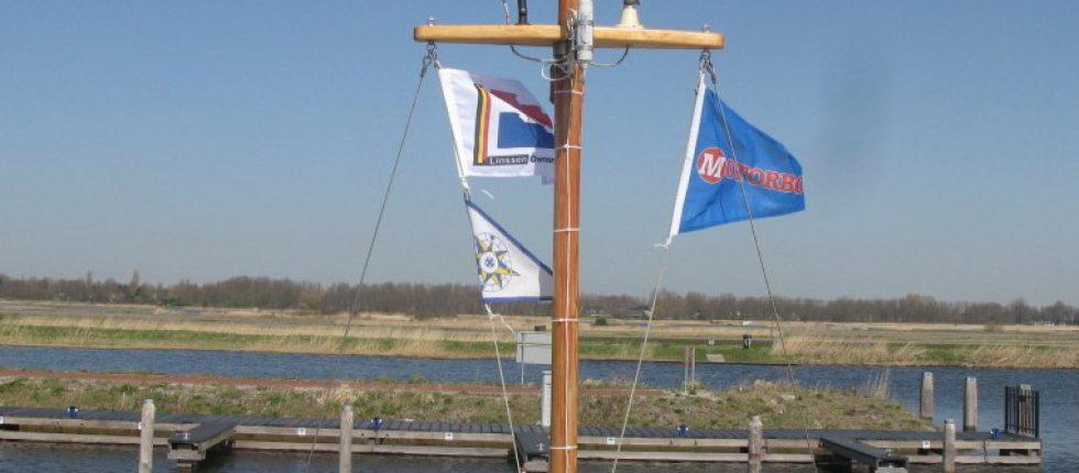 Natuurgebied de Oosterdel vanaf de Recreatiehaven.