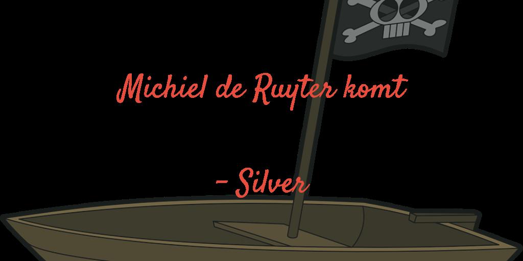 Michiel de Ruyter komt
