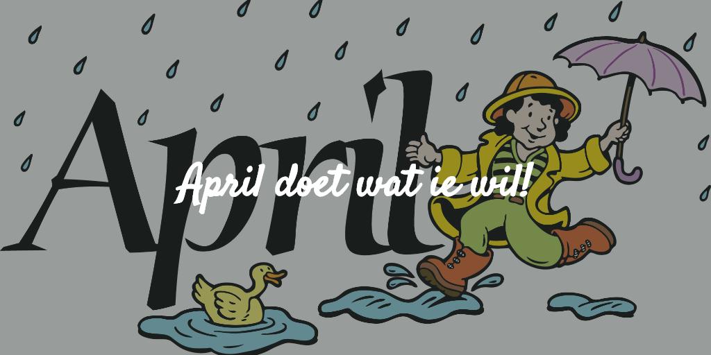 April doet wat ie wil